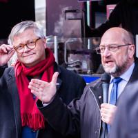 Martin Schulz in Hof, 6. Mai 2019